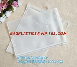 China PVC bag/PVC hook bag /PVC hanger bag for Underwear pack,PVC Plastic Packing Zipper Bag With Hanger clear bag hanger supplier