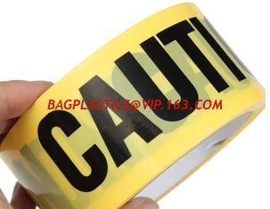 China Custom Hazard PVC PE Warning Barricade Caution Safety Tape Fence Barrier Caution Warning Tape,Reflective Caution Tape supplier
