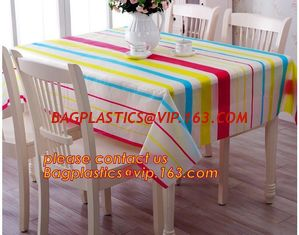 China Table cloth PVC non-woven cloth waterproof cloth mat oil proof plastic tablecloth table clothdigital printed printed pvc supplier