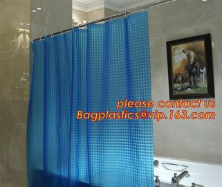 China Eco-friendly Full Printed PEVA bath Shower Curtains, butterflies PEVA shower curtain, Printed shower curtain liners,PEVA supplier
