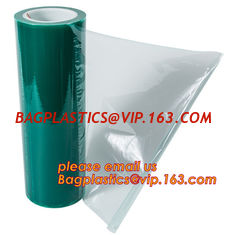 China Clear Polythene PE Protective Stretch Film,PE Surface Protective Film For Aluminium Composite Panel,removable lens scree supplier