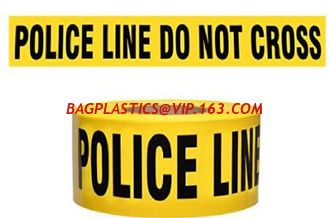 China Caution Warning Tape with Printing,static sensitive area use caution tape,PE Warning Caution Tape,striped caution tape c supplier