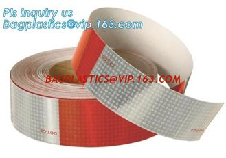 China Engineering Grade Prismatic Reflective Sheeting Tape,3m pavement marking tape road reflective pattern tape,3M Red&White supplier