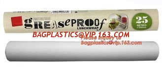 China Food Wrapping Use Greaseproof Printed Baking Paper Parchment Paper for barbecue,40gsm Greaseproof Cooking Baking Parchme supplier