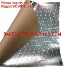 China Aluminum Foil-Scrim-Kraft Paper Facing insulation material for building construction,radiant barrier laminated woven clo supplier