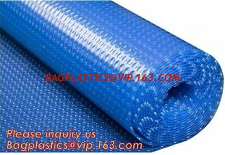 China Customized PE Bubble Solar Pool Cover Insulated Swimming Pool Cover Film,USA Europe Popular Swimming Solar Bubble Pool C supplier