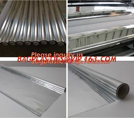 China Thermal Insulation reflective aluminium metalized pet film for package or agriculture,Metallized PET /PE coated Film PET supplier