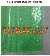 China Perforated Black Agricultural Mulch Film for Weed Control Membrane,Pre-stretch Perforated UV Resistant Agriculture Film supplier