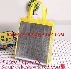 China Customized logo printing insulated food delivery cooler bag,wholesale waterproof food delivery thermal bags bagplastics supplier