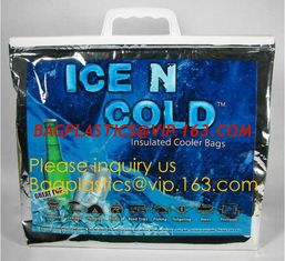 China large aluminum foil material thermal insulate cooler bag,insulated jute cooler bag for delivery food cooler bag aluminiu supplier
