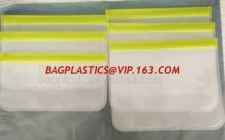China Reusable food storage PEVA snack bag for custom,Clear PEVA Toy Organization Storage Bag for Christmas bagease bagplastic supplier