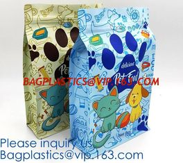 China Customized Personalized Pet / Metpet / Pe Material Plastic Food Bag Printing Cheap,dust-free workshop pet food bag PACK supplier