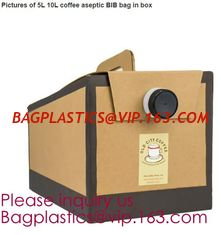 China apple juice aseptic bag in box wine dispenser,wine bag in box,winebag,Laminated bag in box wine dispenser bagease pack supplier