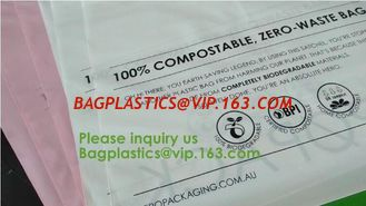 China Biobag Compostable Mailer 100% Biodegradable Postage Bags Mailing Courier Bags Biodegradable Poly Mailer/ Express Heavy supplier