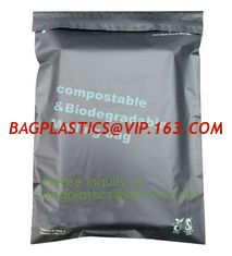 China custom printed compostable biodegradable eco friendly plastic shipping packaging mailing courier bags BAGPLASTICS BAGEAS supplier
