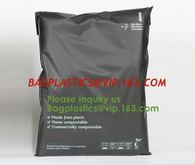 China 100% compostable courier envelopes ups plastic padded colorful mail bags for packing with different size biodgeradable supplier
