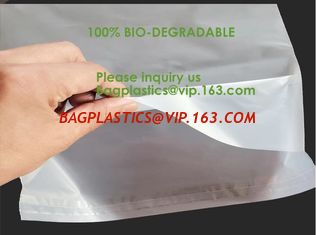China Biodegradable compostable plastic courier shipping envelope custom 10x13 matte black poly mailers bag bagplastics bageas supplier