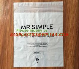 China Let us Fight plastic together, 100% compostable mailing bag,custom biodegradable mailing bag courier bag for cloth shoeb supplier