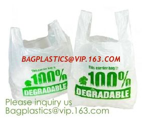China Eco friendly Compostable Waste Bags 100% Biodegradable Garbage Bags Made From Cornstarch,Biodegradable bags Garbage Bags supplier