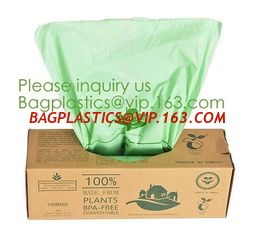 China eco friendly compostable biodegradable plastic t-shirt shopping bags,Recycle kitchen the pack 100 biodegradable cornstar supplier