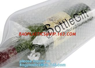 China Eco friendly wine bag,wine bottle protector,Bubble Bags Wrap Packaging Fragile Items Inflatable Wine Bottle Air Pouch Ba supplier