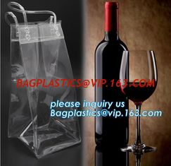 China Eco friendly PVC CUSTOM ECO TOTE BAG, WINE HANDLE BAG, HANDY BAG, WINE CARRIER BAG, WINE PACK, WINE PROTECTION, BOTTLE P supplier