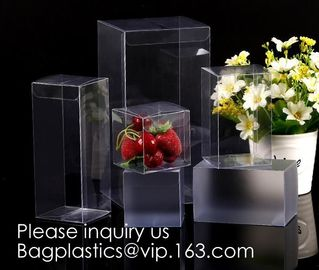 China Clear PET box with hanger  Window box clear box PVC box in pillow shape  Alternatives to paper box pvc box Printed PVC b supplier