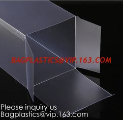 China Window box packaging box PVC box for gift packaging  Alternatives to acrylic box clear box Printed PVC box  Clear window supplier