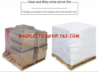 China PE Heat Shrink Plastic Film Rolls For Packaging With Customized Size And Colours supplier