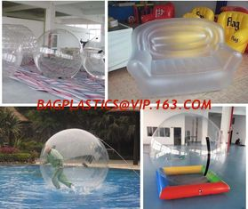 China Pvc Film Inflatables Balls, Water Toy Packing Film Pvc 3mm Thick Plastic Rolls supplier