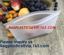 China Eco Friendly Amazon Reusable Storage Sandwich Color Ziplock Peva Bag,Snack Peva Bag Food Package Snack Packaging Bag supplier