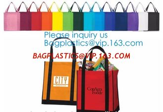 China Wholesale Recycle Hand Bag Non Woven Bag, Custom Colorful Tote Shopping Non Woven Carrier Bag,Tote Recycle Non Woven Bag supplier