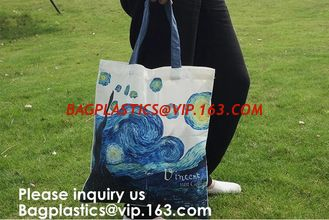 China New Arrival Customized Logo Printing Cotton Canvas Bag With Wooden Handle Cotton Tote Bag Shopping Use, bagease supplier