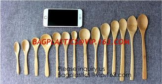 China Disposable Catering Natural Knife, Fork And Spoon Bamboo Spoon,Reusable Eco Friendly Biodegradable Bamboo Cutlery Caddy supplier