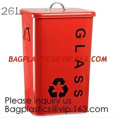 China Kitchen/Home/Household/Outdoor/Recycling,Copper Garbage Can Tin Garbage Bin,Pedal Tin Waste Bin,galvanized metal Tin gar supplier