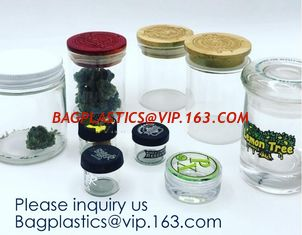 China Glass Jar 3ml,5ml,7ml,10ml,15ml,30ml Storage Bottles & Jars, Small Glass Jars Containers Silicone,Plastic,Bamboo,Glass supplier