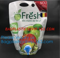 China Aluminum Foil Bag In Box 5l Aseptic Bags For Fruit Juice,Aseptic Wine Bag In Box Liquid Packaging Aseptic Soap Milk Juic supplier