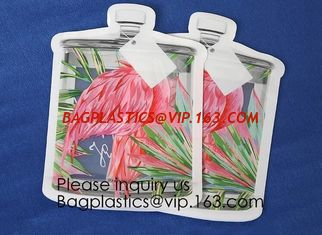 China Custom Printed Mason Jar Stand Up Zip Lock Pouch Snack Food Packaging Bag,PE Storge Bag Kitchen Refrigerator Food Sealed supplier