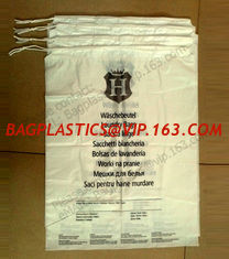 "China Hotel Laundry Bags, 1.25 Mil Plastic with Tear Tie and Write-On Strips, 14"" x 24"", Biodegradable - CASE of 1,000 bagease supplier"