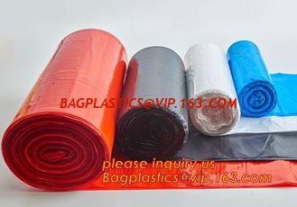 China Waste Bin Liners for Home, Office,Trash Bags Small Drawstring Garbage Bags,Handle Trash Bag, with Power Strip, bagease supplier