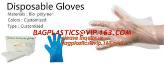 China Disposable Gloves, 1000 Pcs Plastic Gloves for Kitchen Cooking Cleaning Safety Food Handling, Powder and Latex Free supplier