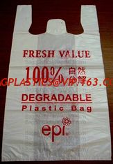 China Carry bags, ASTM D6400 100% Compostable Trash Bags, 4 Gallon, 15 Liter, 100 Count, Extra Thick 0.75 Mils, Small Garbage supplier
