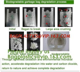 China 100% Biodegradable and Compostable Plastic Garbage Bag dog poop Bag Wholesale Custom biodegradable Pet Waster Bags dog p supplier