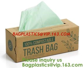 China Home Compostable Eco Green Bioplastic Food Storage Resealable PLA Bags,Food, Gift, Household, Restaurant, Store, Grocery supplier