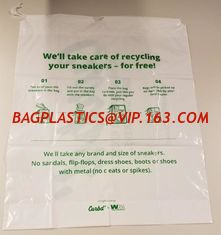 China Biobased Compostable Vest T-shirt Handle Bags,Shopping, Shopper, Singlet, Vest Carrier, Tie handle, Top tie, NIce Day supplier