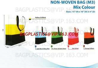 China Grocery Promotional And Reusable Non Woven Shopping Tote Bag,Bag Manufacturer Supply Pp Non Woven Tote Bag, bagease pac supplier