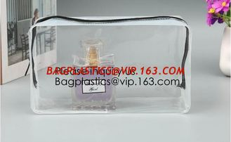 China Clear Toiletry Bag - Compression Packing Cube - PVC Cosmetic Bag - Transparent Makeup Bag - See Through Plastic Clear Ba supplier