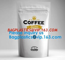 China High Barrier 16 oz Foil Stand up Zipper Pouch Coffee Bag with Valve,Resealable Food Storage Zipper Plastic Bag,Jar Kraft supplier