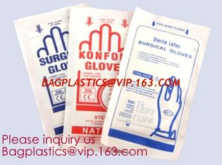 China Latex Gloves Powder Free / Disposable Food Prep Cooking Gloves / Kitchen Food Service Cleaning Gloves, bagease, bagplast supplier