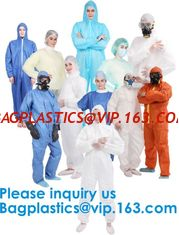 China Polypropylene Coverall, Disposable, Elastic Cuff, White, Xlarge,SMS Coverall with Hood, Disposable, Elastic Cuff, X-Larg supplier